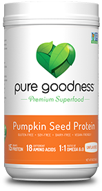 Picture of Pure Goodness Pumpkin Seed protein unflavored